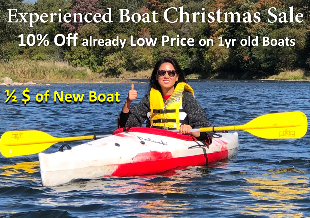check our Xmas Sale on canoes & kayaks