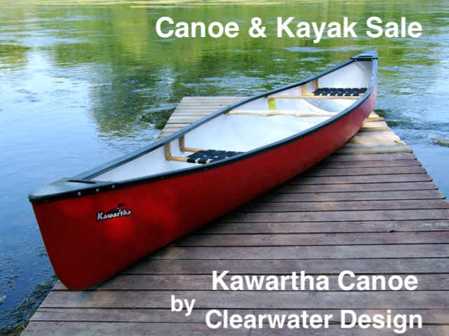 PreSeason Sale on canoes & kayaks